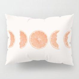 Phases of bitten lemon Pillow Sham