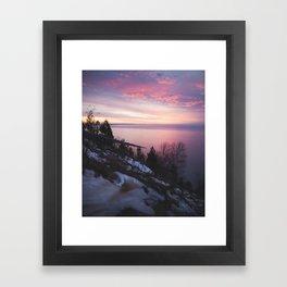 Sleeping Bear Dunes Sunset | Empire, Michigan | John Hill Photography Framed Art Print
