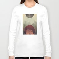 the cure Long Sleeve T-shirts featuring Slow Cure by James M. Fenner