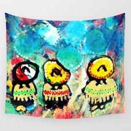 Tres Amigos Wall Tapestry