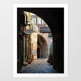 Jaffa Archway Art Print