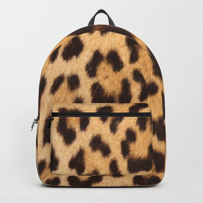 primitive trendy stylish fashionable safari animal leopard Backpack