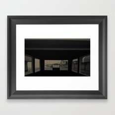 Boardwalk Gone, After Sandy Framed Art Print