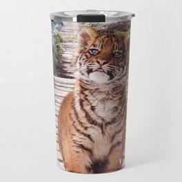 Tigers soap bubbles Travel Mug