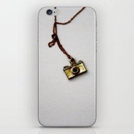 Gold Camera iPhone Skin