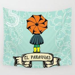 El Paraguas Wall Tapestry