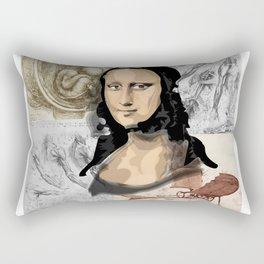 Monna Lisa Rectangular Pillow