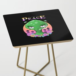 We Come In Peace Side Table