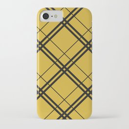 Hufflepuff Argyle iPhone Case