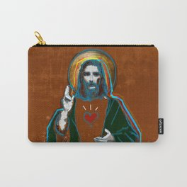 Jesus Christ: Daily Bread - Brown Carry-All Pouch