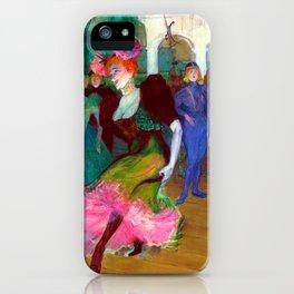 Toulouse Lautrec Marcelle Lender Dancing the Bolero iPhone Case