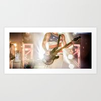 rock and roll Art Prints featuring Rock & Roll by MichaelAndrew