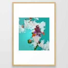 colorful island Framed Art Print