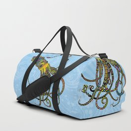 Electric Squid Duffle Bag