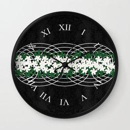 Wicker Basket Wall Clock
