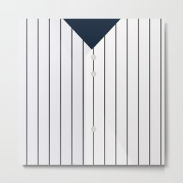 Baseball - NY Yankees Metal Print