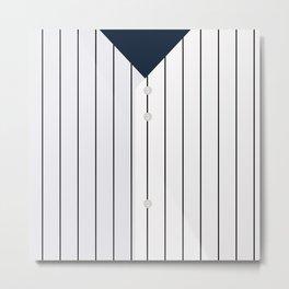 Baseball - NY Yankees Metal Print