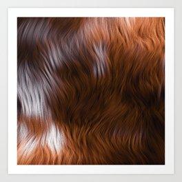 [20-09-16] - Brown Art Print