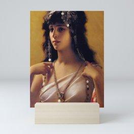"Luis Ricardo Falero ""An Oriental Beauty"" Mini Art Print"
