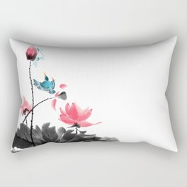 Shh... Rectangular Pillow