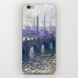Monet Bridge iPhone Skin