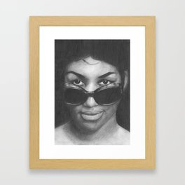 Aretha Franklin Framed Art Print