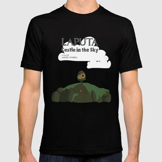 Laputa Castle in the Sky T-shirt