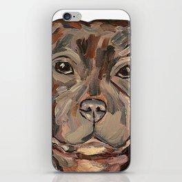 Sallie the dog iPhone Skin