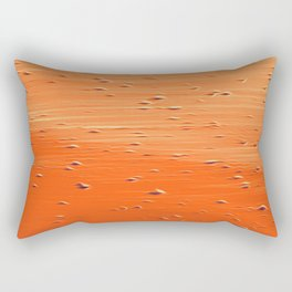 Abstract in red - orange Rectangular Pillow