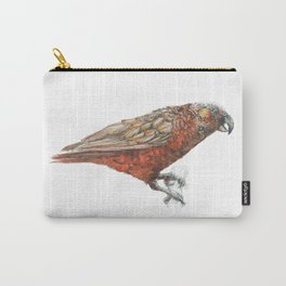 New Zealand parrot, the Kaka Carry-All Pouch