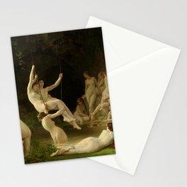 THE NYMPHAEUM - WILLIAM-ADOLPHE BOUGUEREAU Stationery Cards