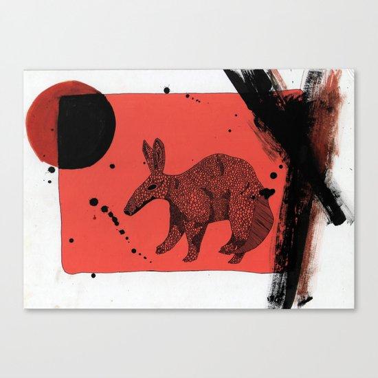 TATU CARRETA IN ATACAMA. Canvas Print