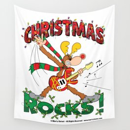 Christmas Rock Wall Tapestry