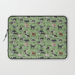 Border Collie Life Laptop Sleeve