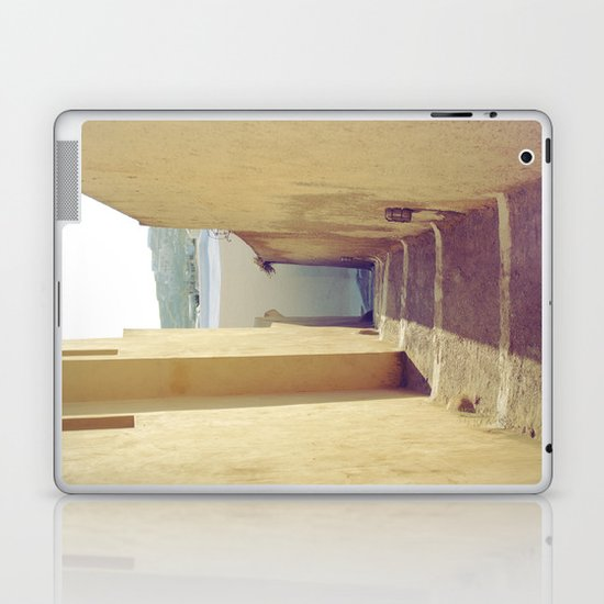 Yellow Path Laptop & iPad Skin