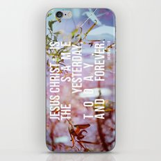 Yesterday, Today and Forever iPhone & iPod Skin