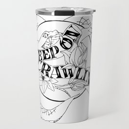 Crawling King Snake Travel Mug