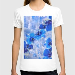 Orchids Blue T-shirt