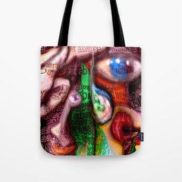 Abstract with verve Tote Bag
