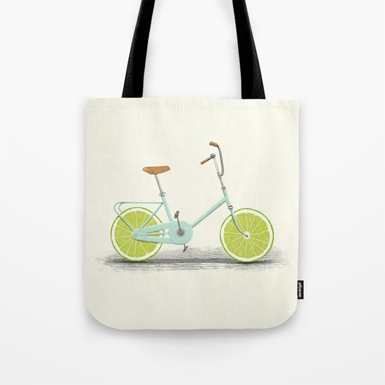 Acid (Blue) Tote Bag