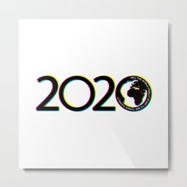 2020: Will the World finally start to see things clearly? Metal Print