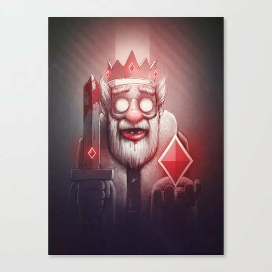 King of Doom Canvas Print