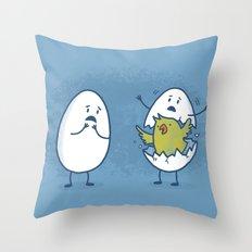 EGGsplosion! Throw Pillow