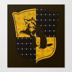 Hufflepuff House Canvas Print