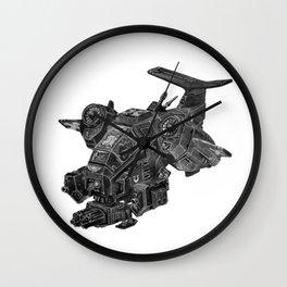 Thundering Storm Wall Clock