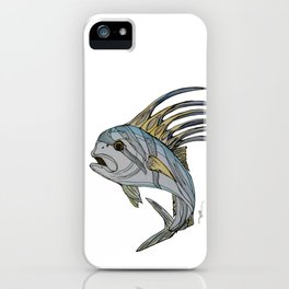 Stylefish Roosterfish iPhone Case
