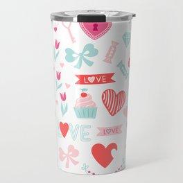 Happy Valetines Day Travel Mug