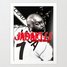 Jadakiss Portrait Art Print