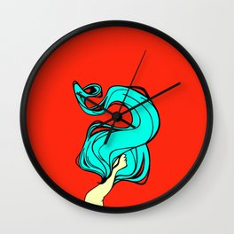 Bluehead Wall Clock