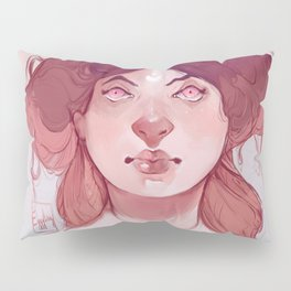 Messy hair don't care Pillow Sham